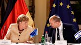 Merkel: Israel can't 'lose sight' of deal with Palestinians
