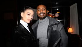 Michael B. Jordan and Friends Dine With Coach