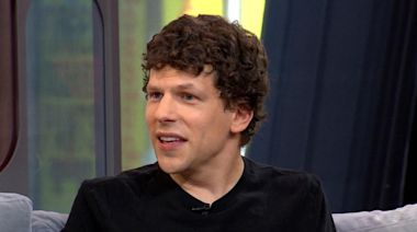 Jesse Eisenberg stops by to chat about his new movie, 'The Art of Self-Defense'