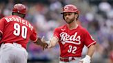 Schrock 5 hits, homers filling in for Votto, Reds beat Mets