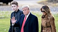 Melania Trump Reveals 14-Year-Old Son Barron Tested Positive For COVID-19