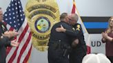 Panama City Police corporal with brain tumor promoted to sergeant as surprise