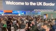 Long Lines Seen at Heathrow Airport Amid Customs and Immigration 'System Failure'