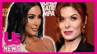 Debra Messing Shades Kim Kardashian's Upcoming 'SNL' Hosting Gig