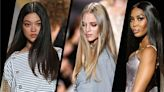 Pin-straight hair is the latest '90s and '00s trend making a comeback