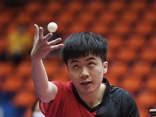 對手受傷退賽 林昀儒全運桌球男單奪金