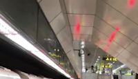 北捷台電大樓站2乘客下車碰撞糾紛 1男疑亮刀示威遭逮