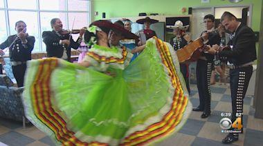 Naima Dance Team Visits Denver Health Medical Center
