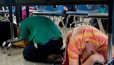 蹲下-掩護-抓牢 加州七百萬人註冊地震演習