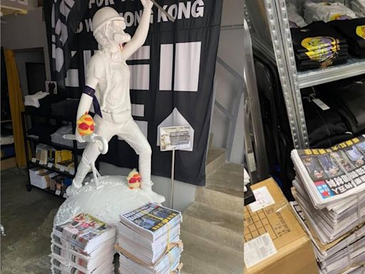 Chickeeduck周小龍掃500份《蘋果日報》 11點店內免費派 | 蘋果日報