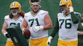 Aaron Rodgers impressed by early returns on Packers rookie C Josh Myers