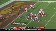 Patrick Mahomes zips rope to Tyreek Hill for short TD