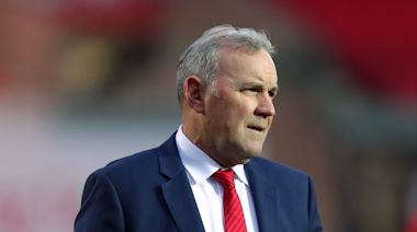 Wayne Pivac fumes at referee Romain Poite's interference during England victory over Wales