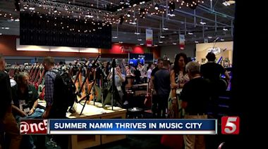 NAMM Show takes over Music City Center