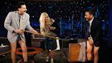 Sacha Baron Cohen's Borat Goes Full QAnon on 'Jimmy Kimmel Live'