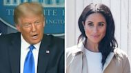 President Donald Trump Slams Meghan Markle and Wishes Prince Harry 'Luck' With Her
