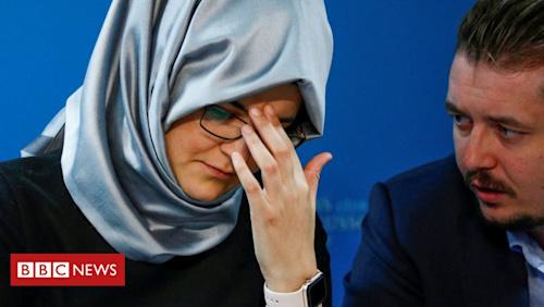 Khashoggi: Journalist's fiancée demands 'punishment' for Saudi prince