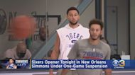 Ben Simmons Under Suspension As Sixers Prepare For Opener In New Orleans