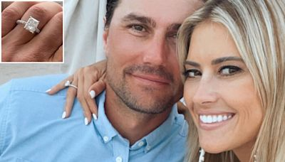 Christina Haack Shows Off Her Massive Emerald-Cut Diamond Engagement Ring from Fiancé Joshua Hall