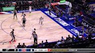 Keldon Johnson with a dunk vs the Detroit Pistons