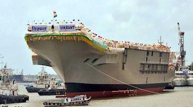 軍情動態》疫情影響 印度首艘國造航艦海試又延期