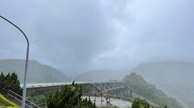 因應烟花颱風來襲 石門水庫調節性放水