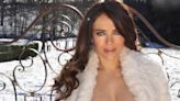 Elizabeth Hurley Just 'Couldn't Resist' Showing Off Her Abs In A Semi-Topless Bikini Pic