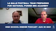 La Salle football team preparing for national power IMG Academy   HS Insider 8/30/21