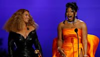 GRAMMYs 2021: Megan Thee Stallion Fan Girls Over Beyonce Joining Her On Stage