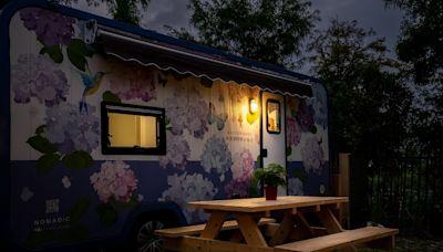 宜蘭綠舞也有露營車了 星光烤肉配晨間活動吸客
