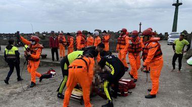 釣客水尾漁港失足落海 急救後恢復生命徵象