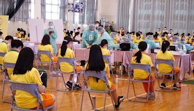 校園BNT疫苗開打首日 台北市48人不適、648人請假
