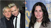 Ellen DeGeneres moves into Courteney Cox's house: 'I'm not having marital troubles'