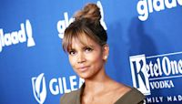 Halle Berry, 53, Goes Makeup Free & Twirls Long Braids In Personalized Director's Chair For New Movie
