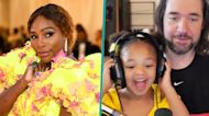 Serena Williams' Daughter Olympia Adorably Crashes Dad Alexis Ohanian's Video