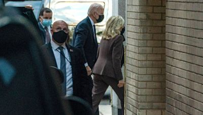 Jill Biden Undergoes 'Common Medical Procedure' with Joe Biden at Her Side Then Returns to White House