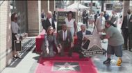 Actor Terry Crews Receives Star On Hollywood Walk Of Fame