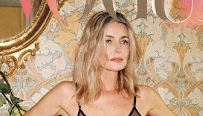 Paulina Porizkova, 56, poses 'full frontal nude' on cover of 'Vogue'