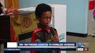 100+ mattresses donated to homeless veterans