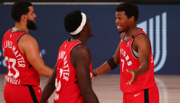 Lowry on Raptors' young roster: 'I want them to be champions again'