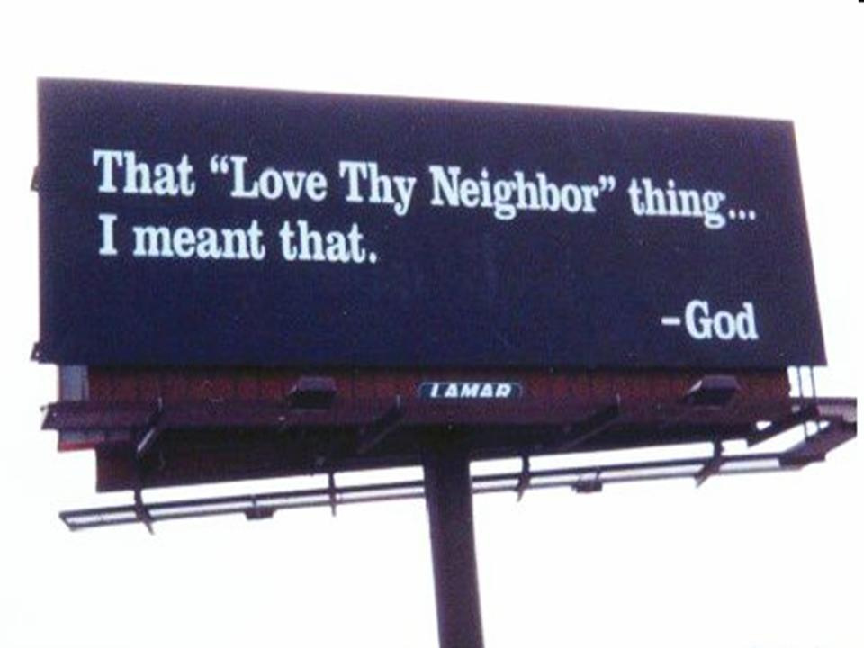 Love Thy Neighbor as Thyself - free PowerPoint Sermons by Pastor Jerry ...