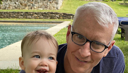 Anderson Cooper Reveals He Used Deer Fencing to Babyproof His House for Son Wyatt