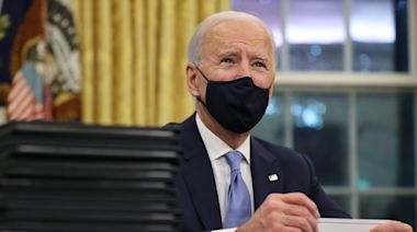Track all of Biden's executive orders and actions as president