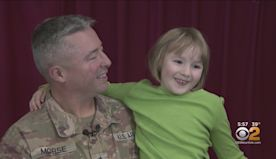 SEE IT: Military Dad Returns Home For Holidays, Surprises Daughter At New Jersey School