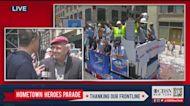 Curtis Sliwa At Hometown Heroes Parade