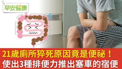 別讓腸道「塞車」!想上廁所千萬別忍,正確養出三種好便力