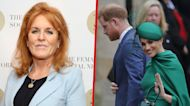 Sarah Ferguson Does Not Think Meghan Markle and Prince Harry Should Be Judged