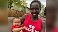 Marathon mom pushes Olympics to allow nursing babies