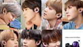 三星 x BTS防彈少年團推出Galaxy合作款!紫色設計+BTS專屬布景主題!