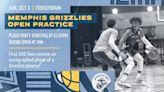 Memphis Grizzlies to host open practice Sunday, October 3 at 1:30 p.m. at FedExForum   Memphis Grizzlies